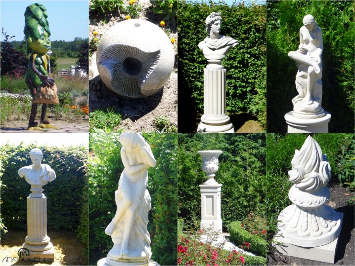 Posągi w Ogrodach Hortulus Spectabilis