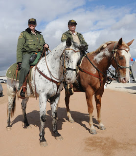 mounted posse