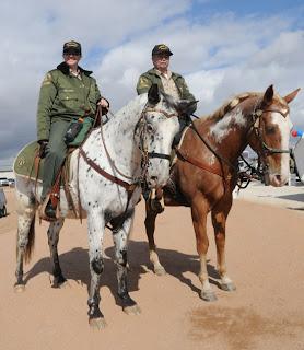 mounted posse