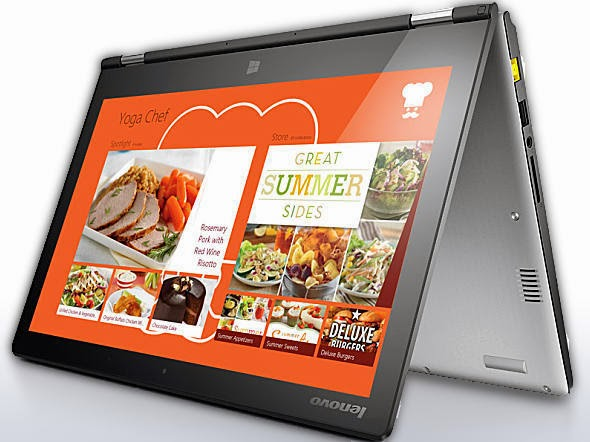 ultrabooks, Yoga 2, Lenovo, tablets, Windows 8.1