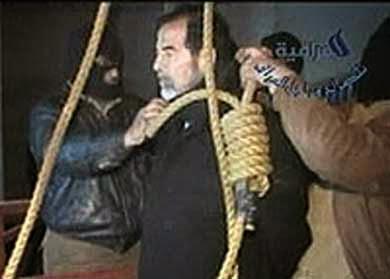 Saddam Hussein ejecutado Strauffon blog