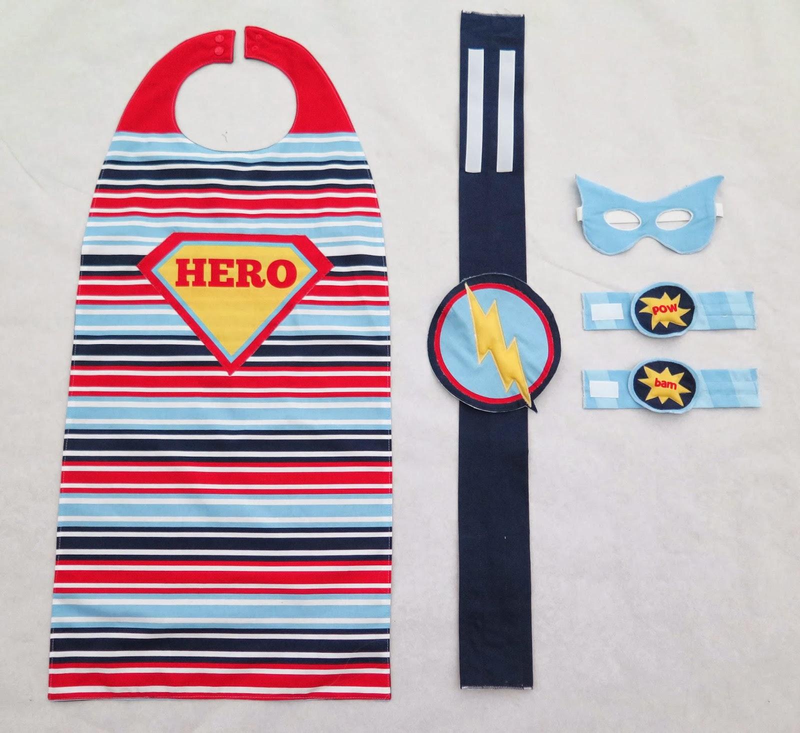 stoffmass.ch: Super Hero Cape zum selber nähen