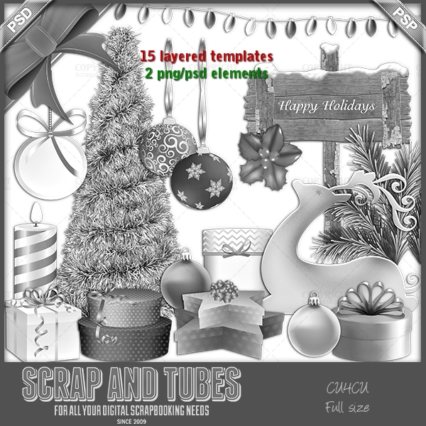 New In Stores Happy Holidays Greyscaled Templates Fscu4cu