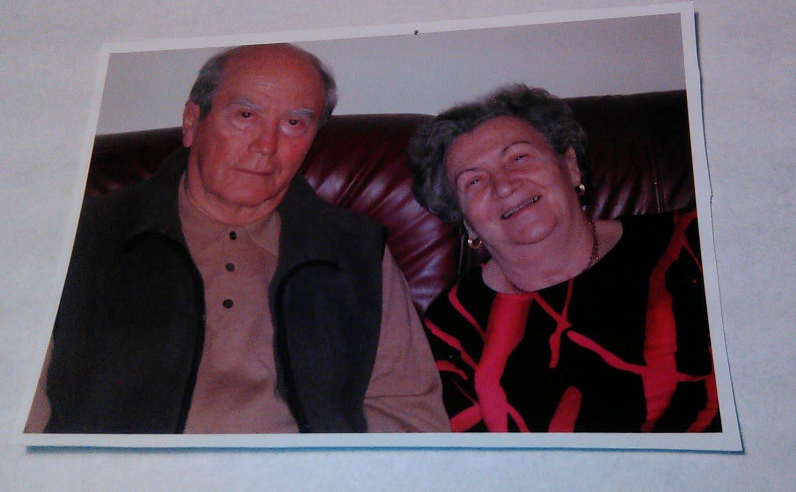 Dumitru si Frosia (Sica) ANDREI unchiul meu si matusa mea