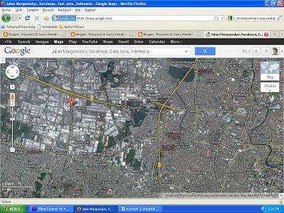 Di jual pabrik/gudang Margomulyo Surabaya 6 hektar sangat strategis , Kawasan Industri Margomulyo Surabaya