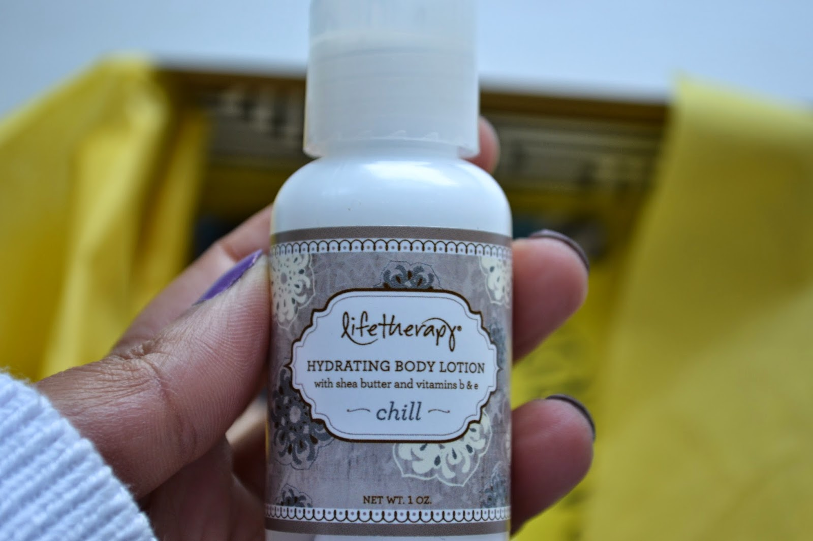 Lifetherapy Chill Hydrating Body Lotion