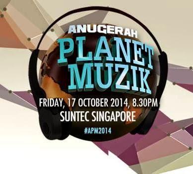 Pencalonan Akhir Anugerah Planet Muzik 2014 Suntec Singapore