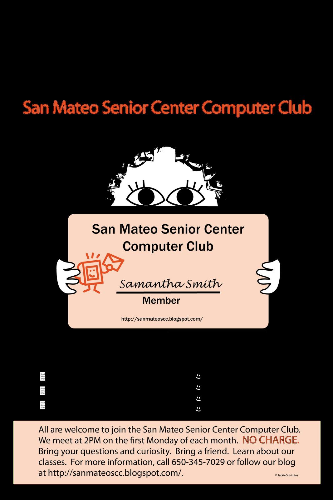 San Mateo Senior Computer Club