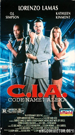 Poster Of CIA Code Name Alexa 1992 Dual Audio 720p BRRip [Hindi-English] Free Download Watch Online