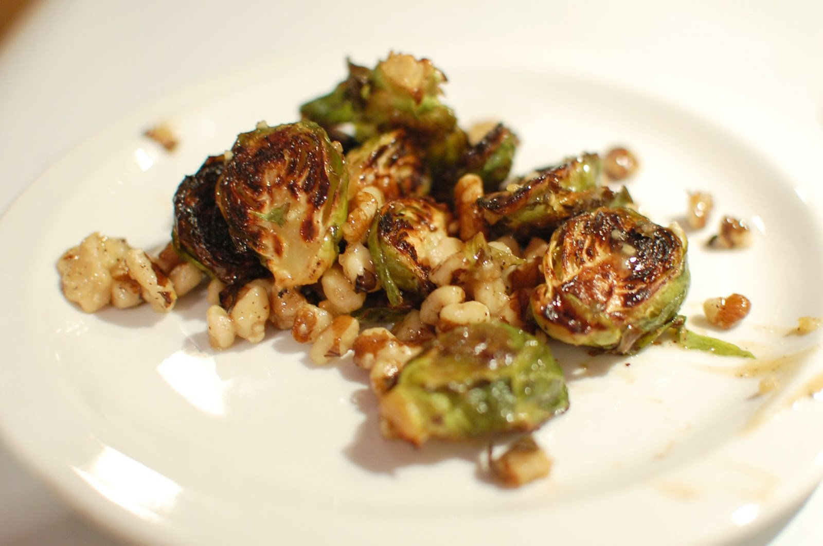 Reckless Abandon: Maple Dijon Roasted Brussels Sprouts ...