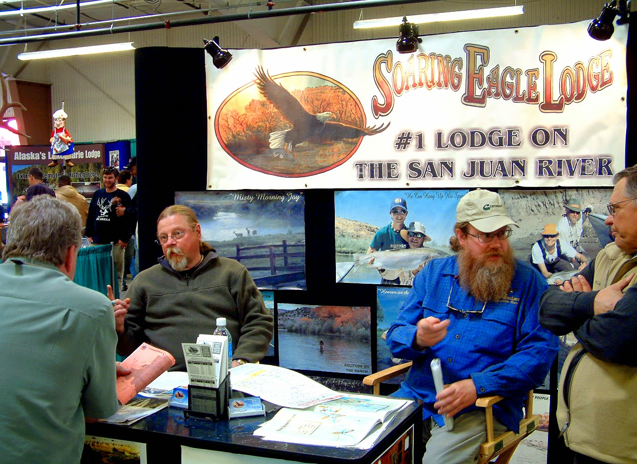 Outdoors nm annual hunting fishing show returns for Hunting and fishing show