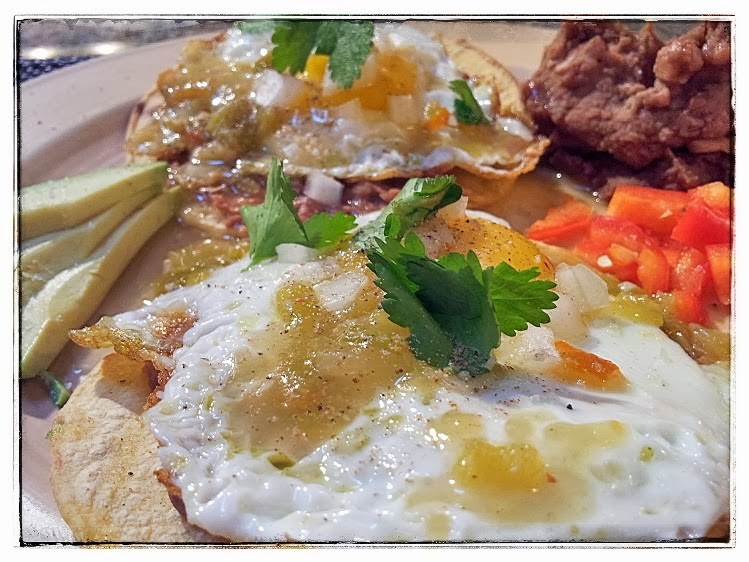 red or green?: Huevos Rancheros