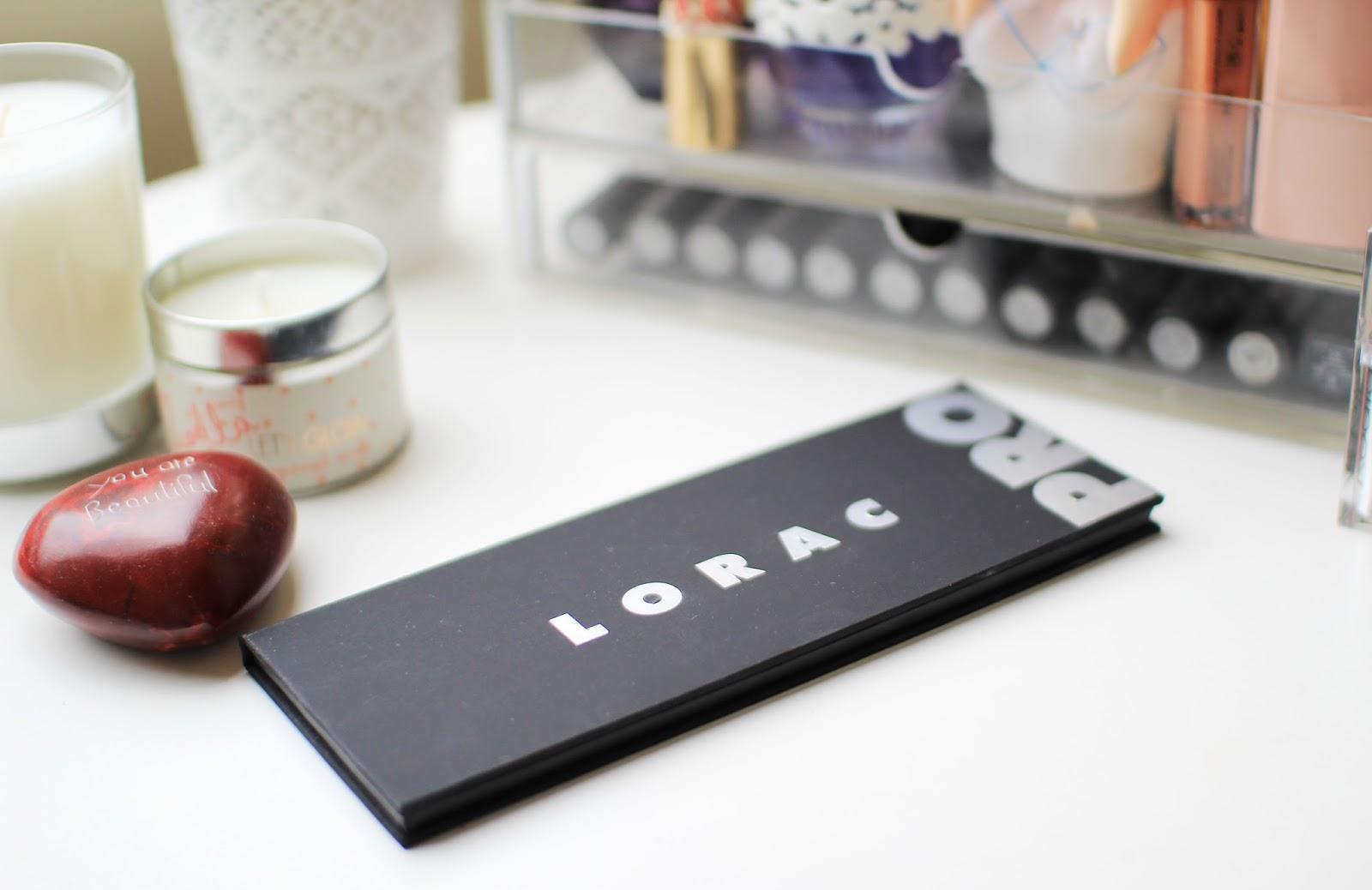 The Lorac Pro Palette