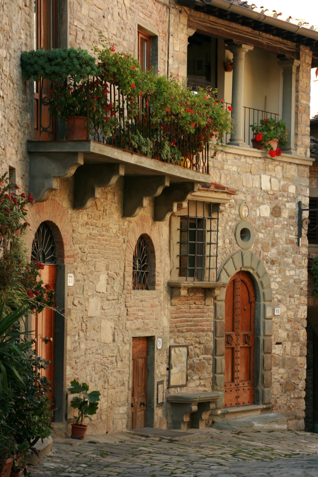 Home of stone rome villa inspiration in stone walls for Italian house
