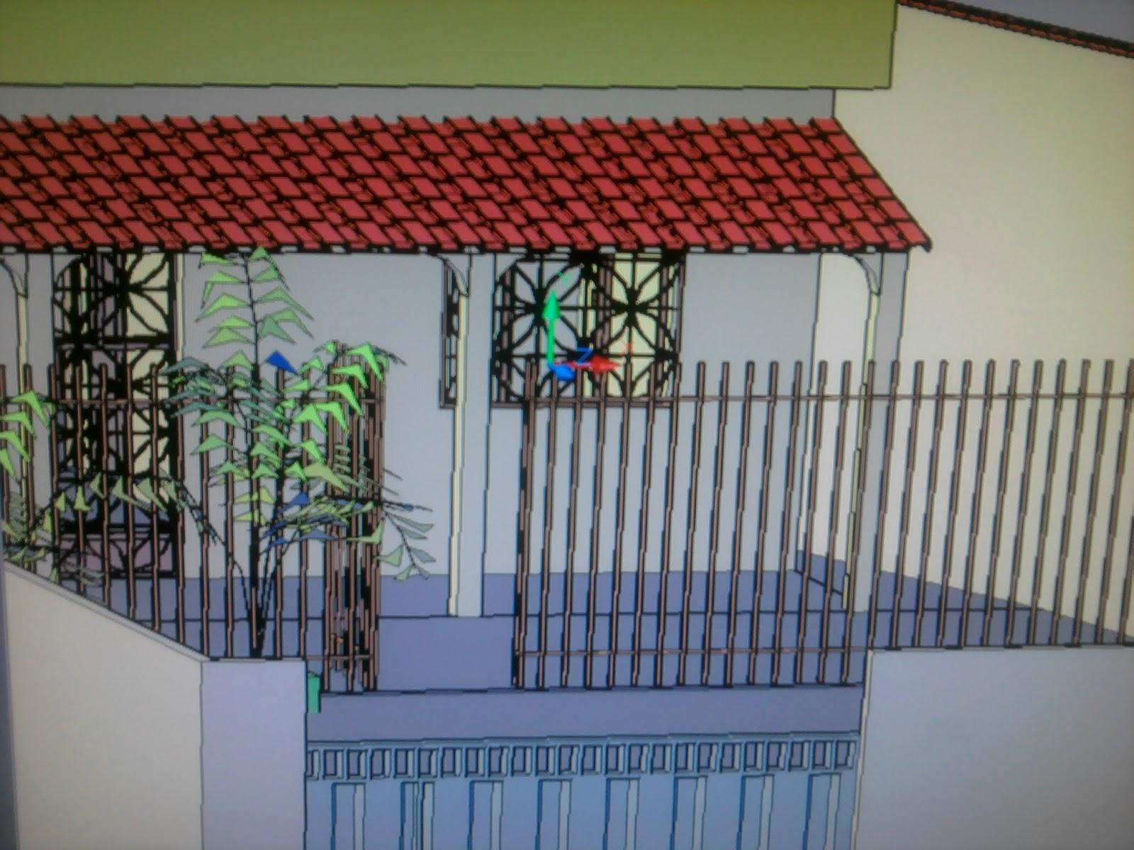 no Autocad 2010 Uma Casa 3D e agora Disponível para Download #79332C 1600x1200 Baixar Banheiro Para Autocad
