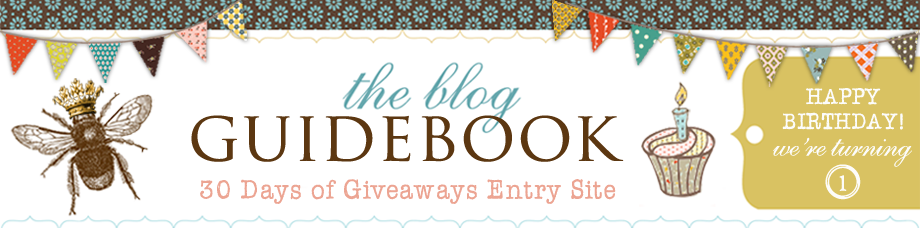 30 Days Of Giveaways hosted by The Blog Guidebook