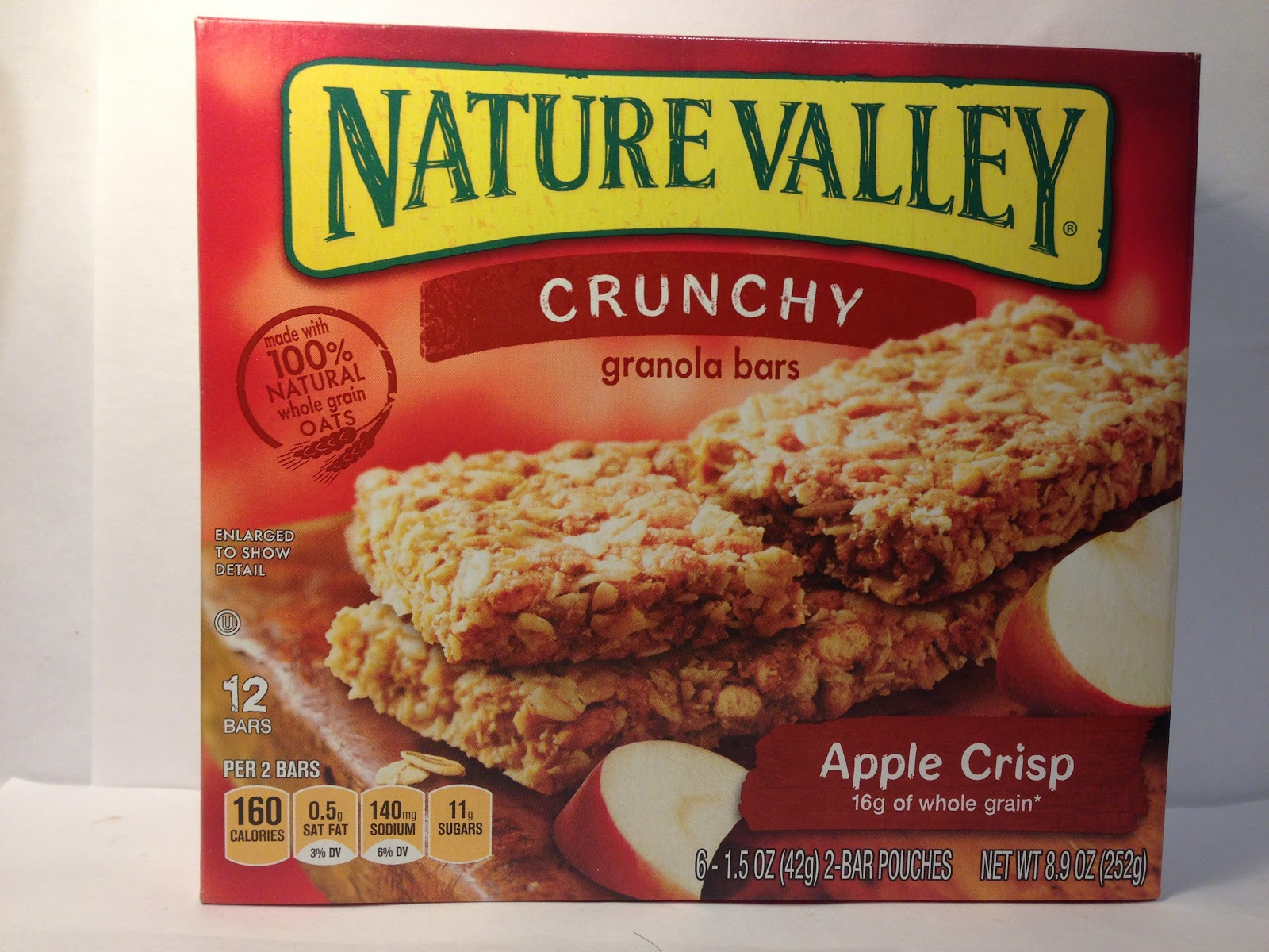 ... Food Dude: Review: Nature Valley Crunchy Apple Crisp Granola Bars