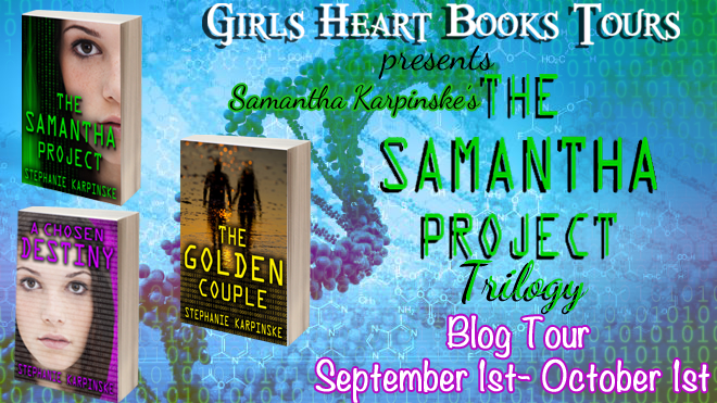 Blog tour stopthe samantha project trilogy by stephanie karpinske fandeluxe Gallery