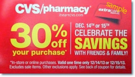 Once you are an ExtraCare Rewards member, you can get CVS coupons. You can get these coupons in-stores via Red Coupon Machine, at the bottom of your sale's receipt, from the CVS' website, or on the CVS App. Sometimes you'll get percent-off coupons emailed to the address linked to your ExtraCare Rewards account.