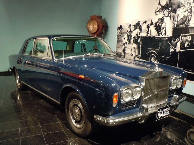 1967 Thomas Crown Affair movie Rolls Royce
