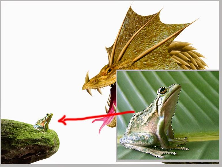 menggambar hewan di photoshop