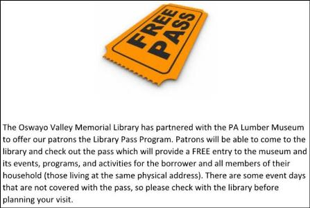 OVML Free Pass