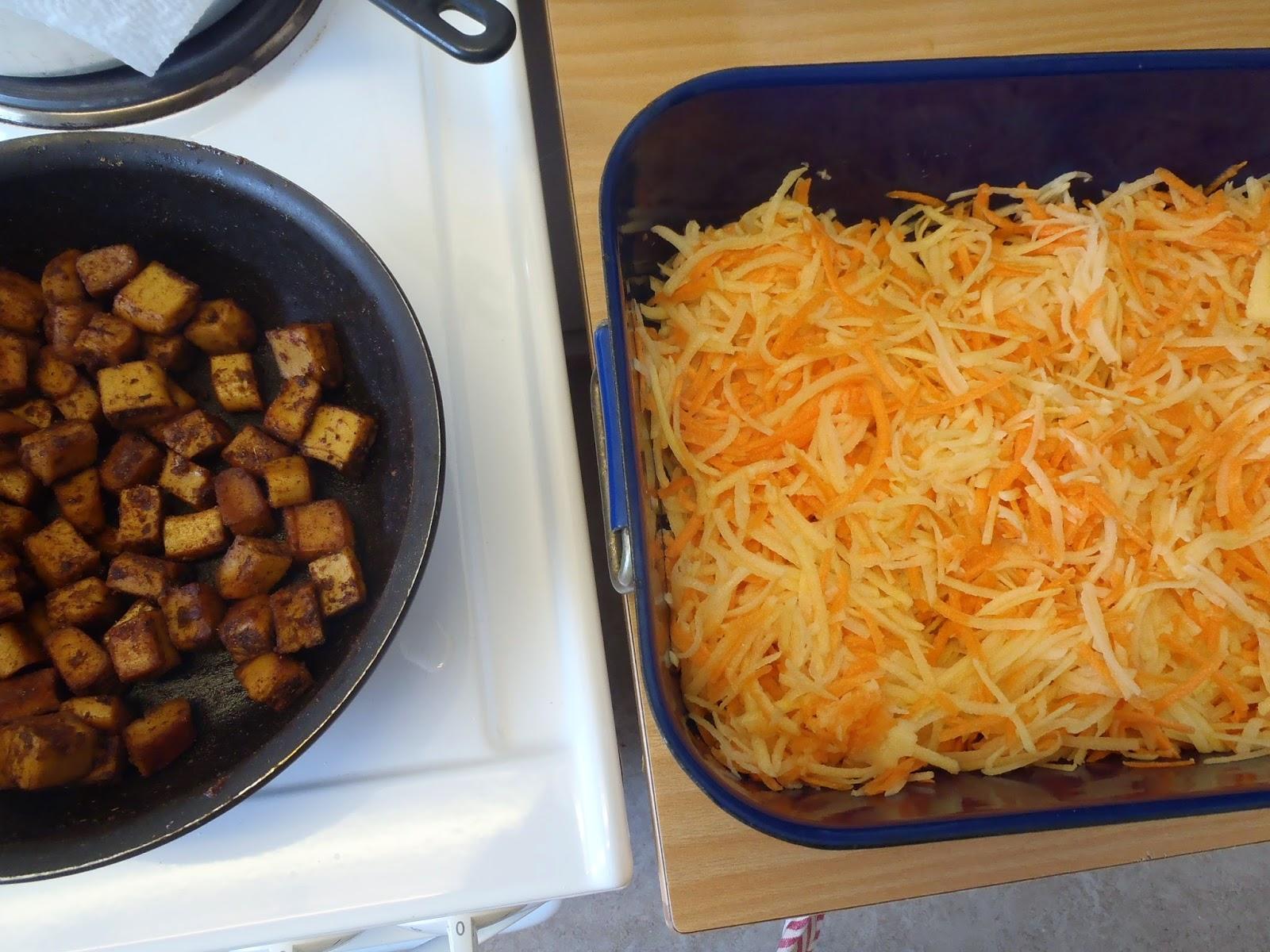 potatis och morotsgratäng