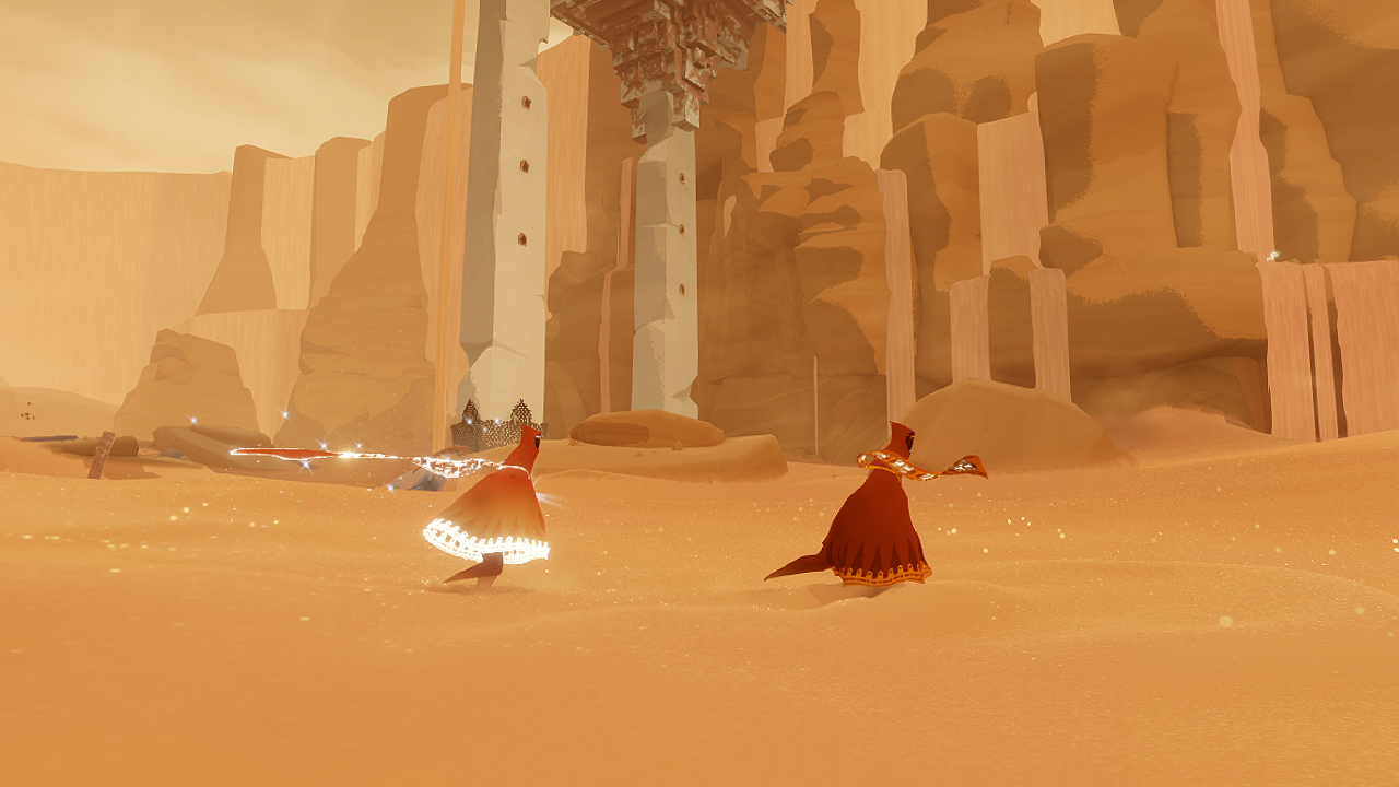 Journey game screenshot