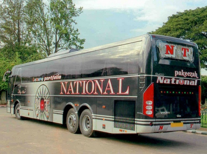 Indian Luxury Buses Pictures Of Beautiful National Travels Volvo Buses