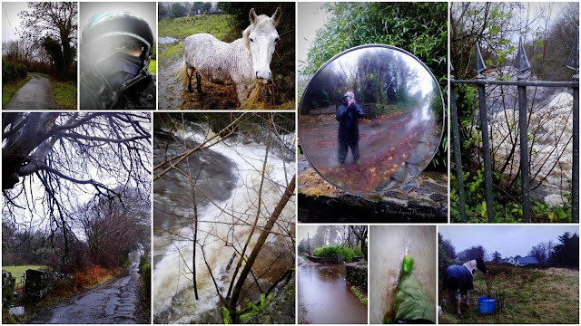 images from Oughterard during the Storm Desmond