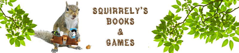 Squirrely's Books and Games