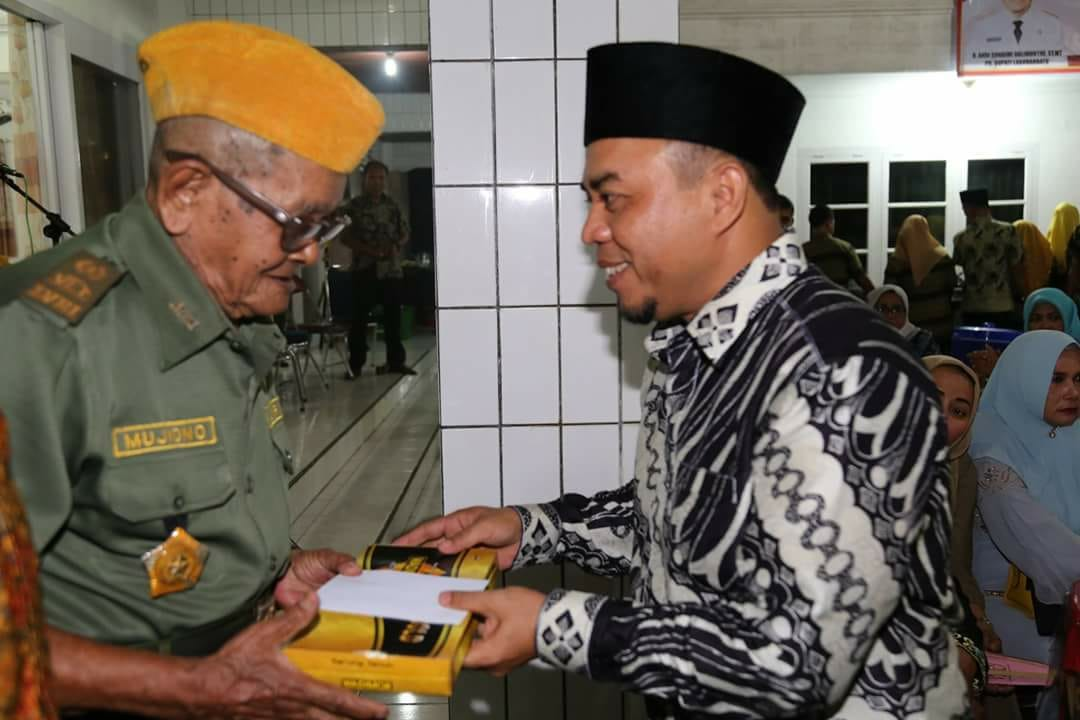 Silaturahmi Veteran dan Pejuang 45 Diterima Plt Bupati Labuhan Batu