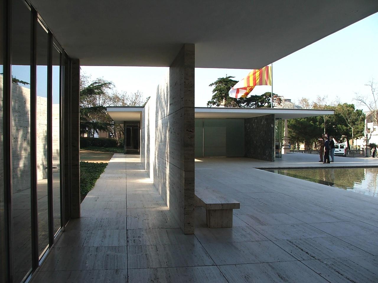 architecture as aesthetics barcelona pavilion. Black Bedroom Furniture Sets. Home Design Ideas