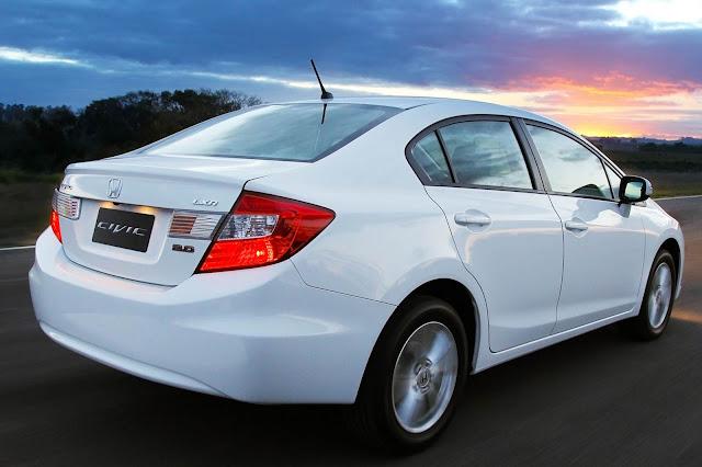 Novo Honda Civic LXR 2.0 2014 Branco
