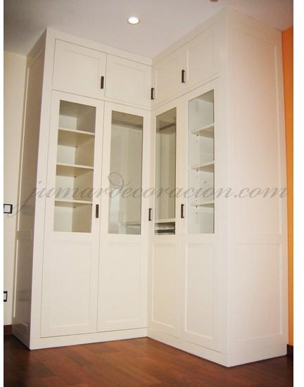 Jumar decoraci n armario empotrado esquina - Disenos de armarios empotrados ...