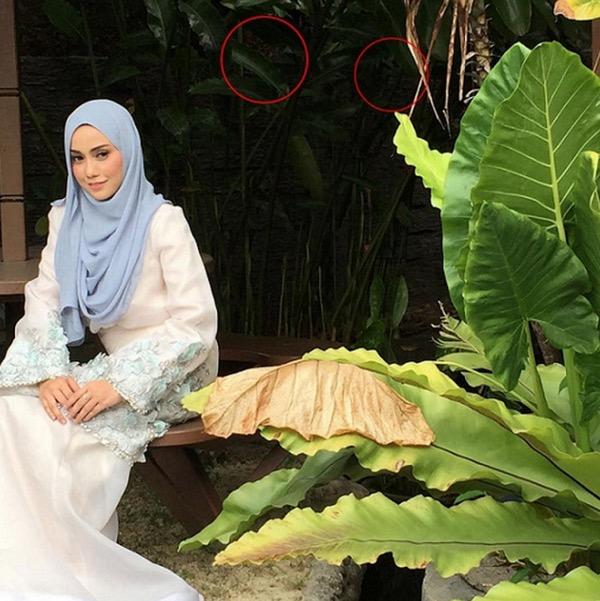 Kelibat Misteri Muncul Semasa Sesi Penggambaran Mia Ahmad