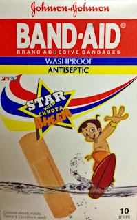 Band-aid, Johnson &Johnson, Bandage, Adhasive, Review