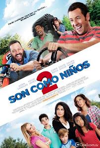 Poster de Ver Película Son como niños 2 / Niños grandes 2 Online (2013)