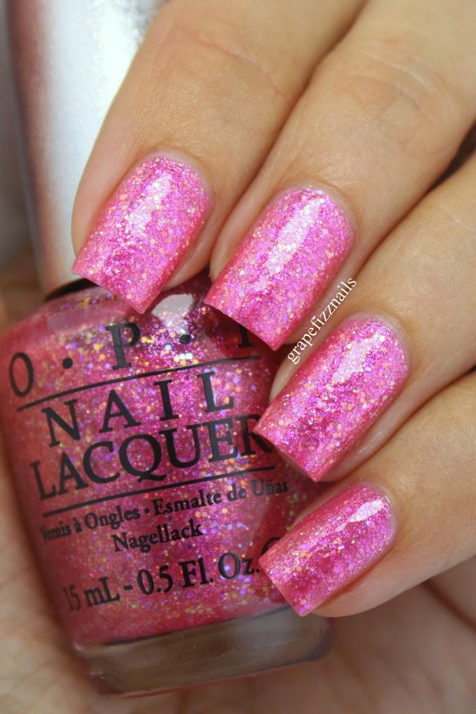 Grape Fizz Nails: OPI DS Reflection