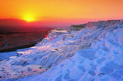 Castelo de Algodão de Pamukkale - Turquia