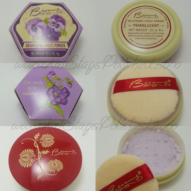 Besame Cosmetics - Brightening Violet Powder