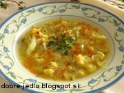 Polievka so zemiakovými rezancami - recept