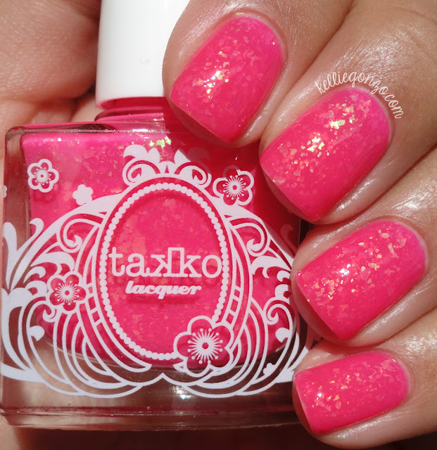 Takko Lacquer Electric Flamingo