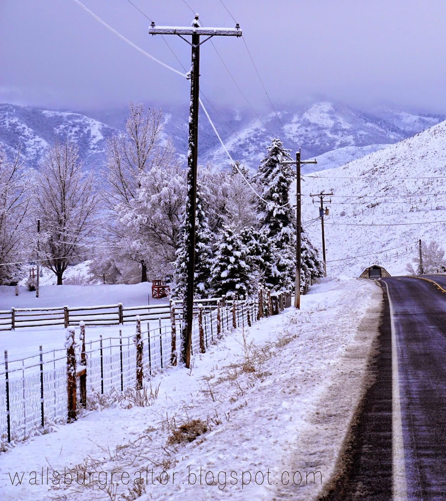 Snow Day in Wallsburg, Utah