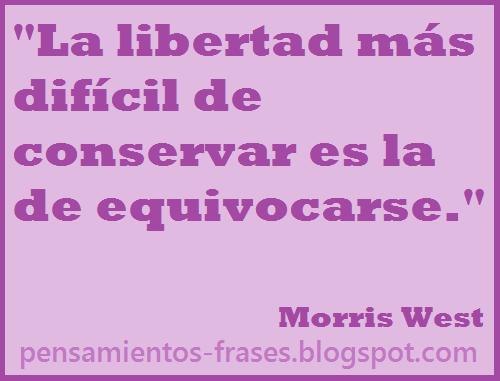 frases de Morris West