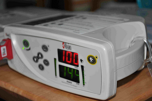 pulse oxygen machine
