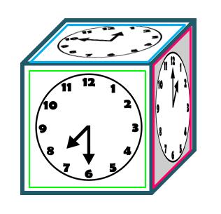 clock dice