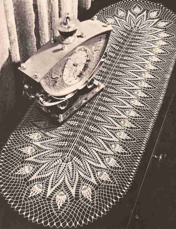 Tapete ovalado a Crochet
