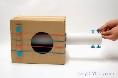 easy DIY paper toys