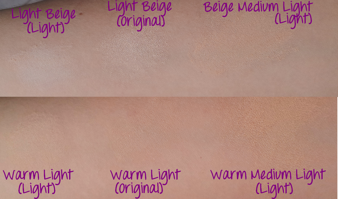 make up buff'd cosmetics foundation beige warm medium light original